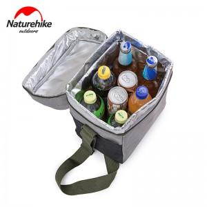 фото Изотермическая сумка Naturehike L 23x17x28 см Light Grey (NH17B001-B) #3
