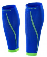 Компрессионные гетры NatureHike Running leg protector XL blue (NH17H003-M)