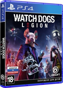 игра Watch Dogs: Legion PS4 - русская версия