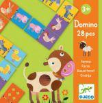 Настольная игра Djeco Домино 'Ферма' (DJ08158)