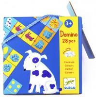 Настольная игра Djeco Домино 'Цвета животных' (DJ08111)