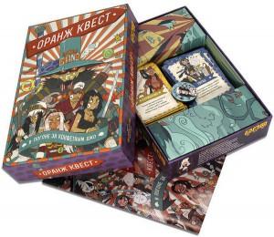фото Настольная игра Muravey Games 'Оранж Квест:  в погоне за Конфетным Джо' (3 издание) (218445) #4