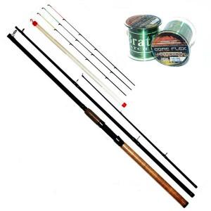 Фидер Fishing Roi Sigma Carbon 3.30м 60-120гр (624-3-330)
