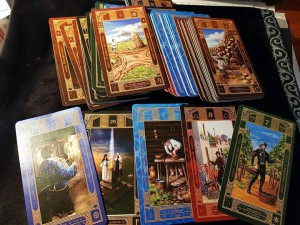 фото страниц Колода карт 'Таро Алфавит' (78 карт с инструкцией) #3