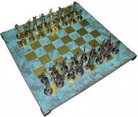 Шахматы Manopoulos Дискобол, 54 х 54 см (S17TIR)