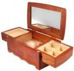 Подарок Комодик-шкатулка для украшений King Wood (JF-K0604B)