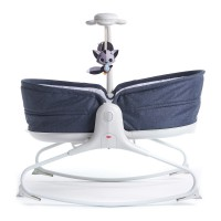 Кресло-кроватка-качалка 3 в 1 Tiny Love 'Мамина любовь' синее (1801206830)