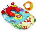 Развивающий коврик Tiny Love 'Подводный мир' с подушкой (1203600030)