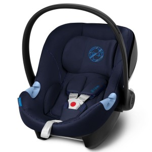 Автокресло Cybex Aton M i-Size Indigo Blue navy blue (519000879)
