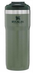 Термочашка Stanley ClassicTwinLock Hammertone Green 0.47 л (6939236348164)