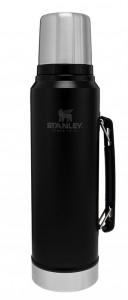 Термос Stanley Legendary Classic 1 л Matte Black (6939236347938)