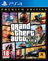 игра Grand Theft Auto 5 Premium Edition PS4 - Русская версия