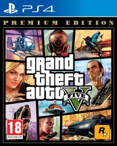 игра Grand Theft Auto 5 Premium Edition PS4 - Русская версия