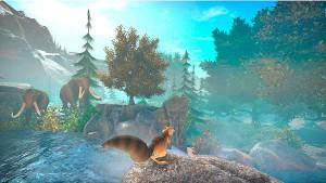 скриншот Ice Age: Scrat's Nutty Adventure PS4 Ледниковый период: Сумасшедшее приключение Скрэта - русская версия #4