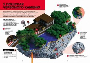 фото страниц Minecraft. Довідник Червоного каменю #4