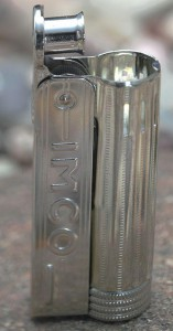 Зажигалка бензиновая Imco Junior Oil Chrome Nickel (IM1800012)