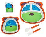 Детский набор бамбуковой посуды UFT Dog из 5 предметов (UFTBP21)