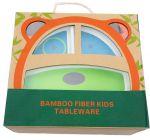 фото Детский набор бамбуковой посуды UFT Dog из 5 предметов (UFTBP21) #2