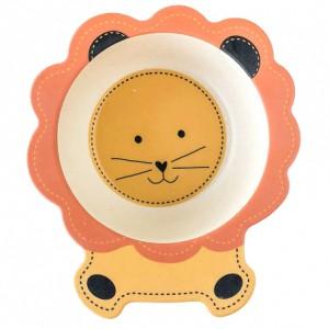 фото Детский набор бамбуковой посуды UFT Львенок из 5 предметов (UFTBP3) #4