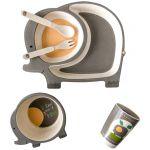 Детский набор бамбуковой посуды UFT Слоненок из 5 предметов (UFTBP4)