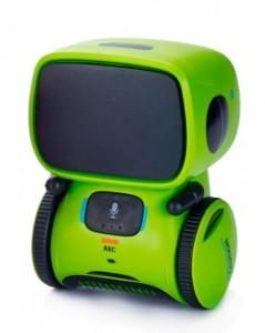 Интерактивный робот AT-Robot с голосовым управлением, зеленый (AT001-02)