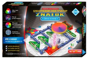 Конструктор Znatok 'Свет и цвет' (24 схемы) (70799)