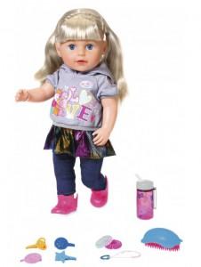 Кукла Baby Born Нежные объятия Сестренка-Модница с аксессуарами 43 см (824603)