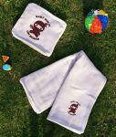 Подарок Детский плед с вышивкой 'Baby ninja' 03
