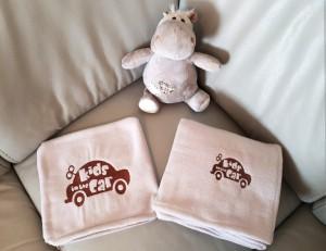 фото Детский плед с вышивкой 'Kids Car' 04 #4