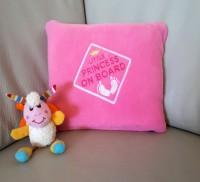 Подарок Детский плед с вышивкой 'Little Princess' 05