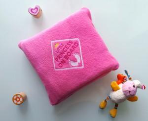фото Детский плед с вышивкой 'Little Princess' 05 #2