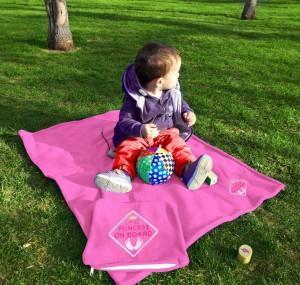 фото Детский плед с вышивкой 'Little Princess' 05 #5