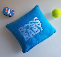 Подарок Детский плед с вышивкой 'Boss Baby' 07