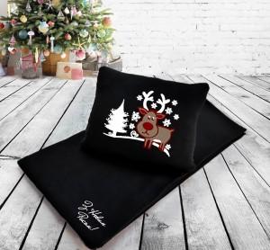 Подарок Набор: подушка + плед 'З Новим Роком!' 30