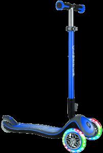 Самокат Globber Elite Deluxe 3 колеса с подсветкой