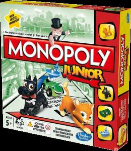 Настольная игра Hasbro 'Моя первая монополия'