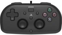 Джойстик HORI Wired Mini Gamepad для консоли PS4 (черный)