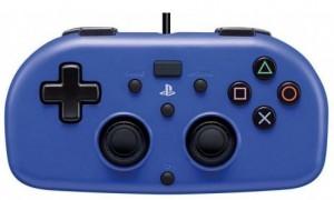Джойстик HORI Wired Mini Gamepad для консоли PS4 (синий)
