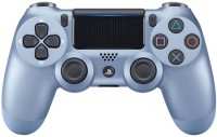 Джойстик Sony Dualshock 4 для консоли PS4 (Titanium Blue) V2