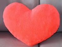 Подарок Подушка 'Сердце' коралловое