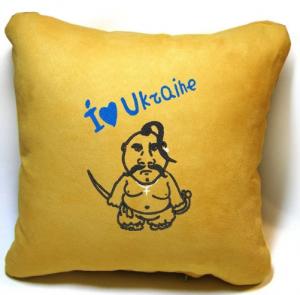 Подарок Сувенирная подушка 'I love Ukraine!'