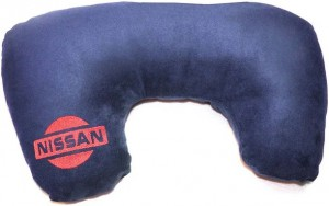 Подарок Подушка-рогалик 'Nissan'