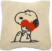 Подарок Сувенирная подушка 'Снупи с сердечком ' №134