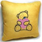 Подарок Сувенирная подушка ' Мишка Teddy ' №18