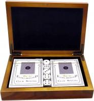 Подарок Набор Duke шкатулка с картами и игровыми костями (DN32801)