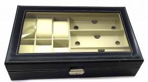 Подарок Шкатулка Super Hit для часов и очков: 6 часов + 3 пары очков (DN32799)