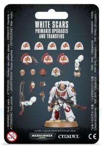 Настольная игра Hobby World 'White Scar Primaris Upgrades & Transfers Sheet' (99070101040)