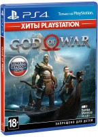 игра God of War - Хиты PlayStation PS4 - русская версия