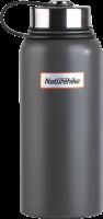 Вакуумный термос NatureHike 0,9л matte gray (NH60A060-B)