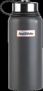 Вакуумный термос NatureHike 0,9л matte gray